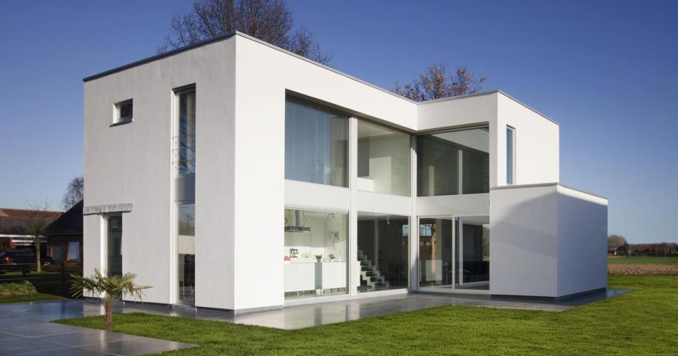 Villa contemporaine à Ypres